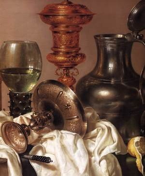Still life with Gilt Goblet (detail) 1635