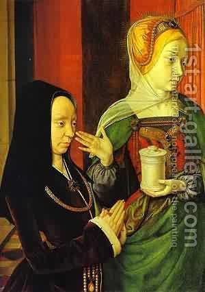 Portrati Presumed To Be Of Madeleine Of Burgundy by Istvan Szonyi - Reproduction Oil Painting