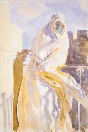Reproduction oil paintings - Sargent - Arab Woman