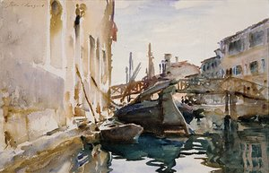 Reproduction oil paintings - Sargent - Giudecca 2