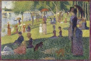 Study For A Sunday On La Grande Jatte 1884