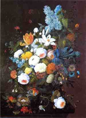 Still Life with Flowers 1848