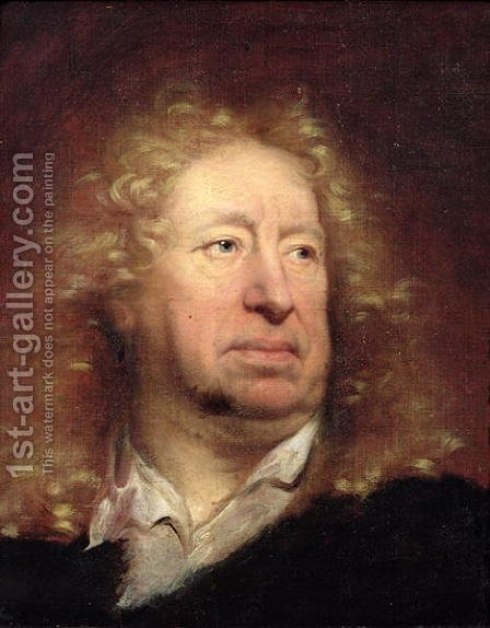 Portrait of Everhard Jabach by Hyacinthe Rigaud - Reproduction Oil Painting