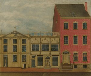 Reproduction oil paintings - Anonymous Artist - The Shop and Warehouse of Duncan Phyfe Fulton Street New York City 1816