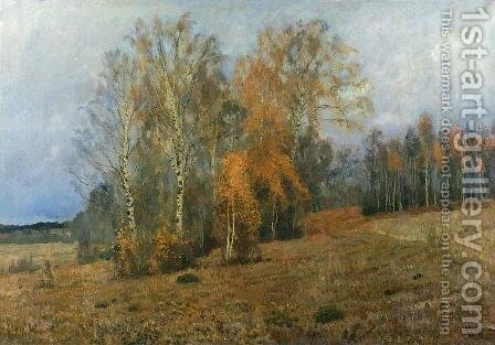 October 1891 by Isaak Ilyich Levitan - Reproduction Oil Painting