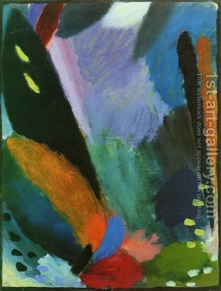 Depth of Feeling 1918 by Alexei Jawlensky - Reproduction Oil Painting
