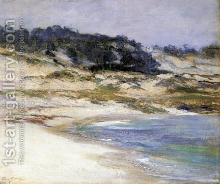 17 Mile Drive by Guy Rose - Reproduction Oil Painting