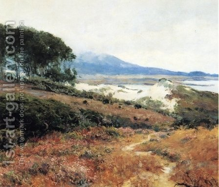 Carmel Dunes1 by Guy Rose - Reproduction Oil Painting