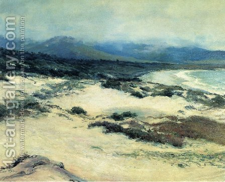 Carmel Shore1 by Guy Rose - Reproduction Oil Painting