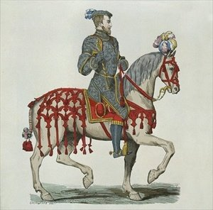 Henri II as Captain of the Houshold Cavalry