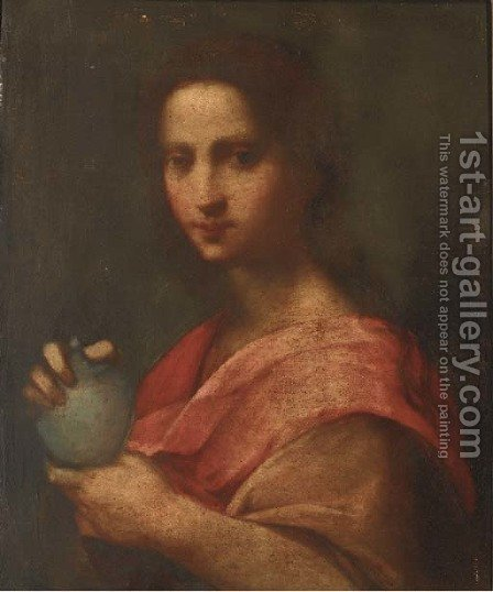 Saint Mary Magdalene by (after) Andrea Del Sarto - Reproduction Oil Painting