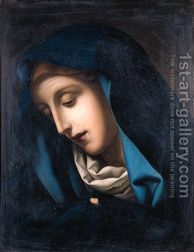Mater Dolorosa by (after) Carlo Dolci - Reproduction Oil Painting