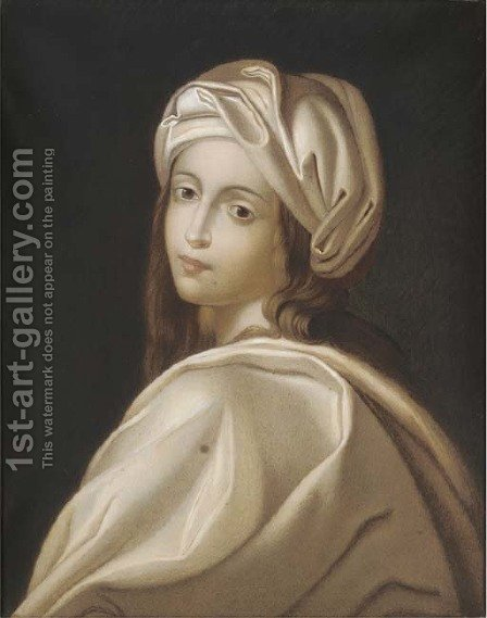 Beatrice Cenci by (after) Guido Reni - Reproduction Oil Painting