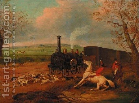 The Kill by (after)  Henry Jnr Alken - Reproduction Oil Painting