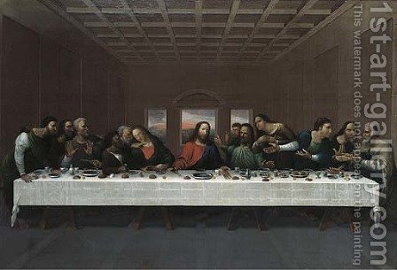 The Last Supper by (after) Leonardo Da Vinci - Reproduction Oil Painting
