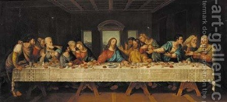 The Last Supper 2 by (after) Leonardo Da Vinci - Reproduction Oil Painting