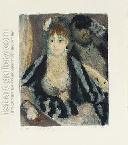 La Loge by (after) Pierre Auguste Renoir - Reproduction Oil Painting