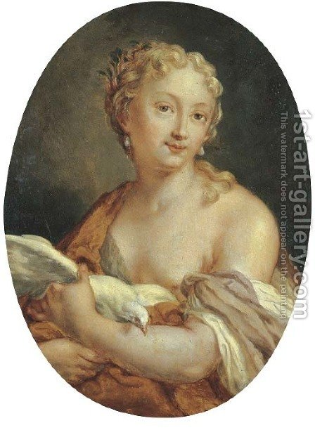 Venus by (after) Rosalba Carriera - Reproduction Oil Painting