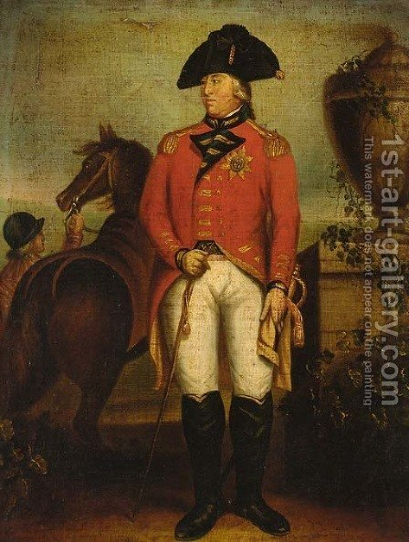 King George III by (after) Sir William Beechey - Reproduction Oil Painting