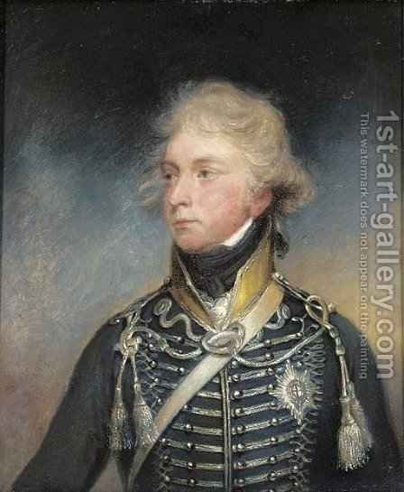 Portrait of George IV by (after) Sir William Beechey - Reproduction Oil Painting