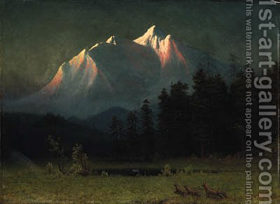 Bierstadt, Albert by Albert Bierstadt - Reproduction Oil Painting
