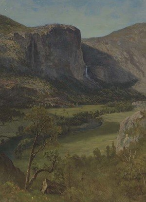 Reproduction oil paintings - Albert Bierstadt - Hetch Hetchy Valley