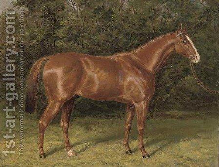 Blair Athol by A. Clark - Reproduction Oil Painting