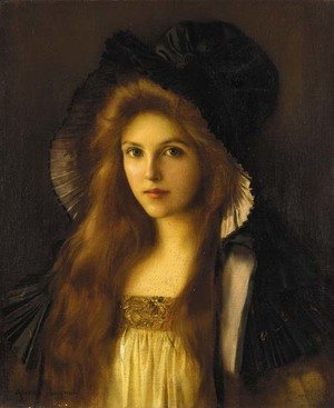 Reproduction oil paintings - Albert Lynch - Beautiful Betty