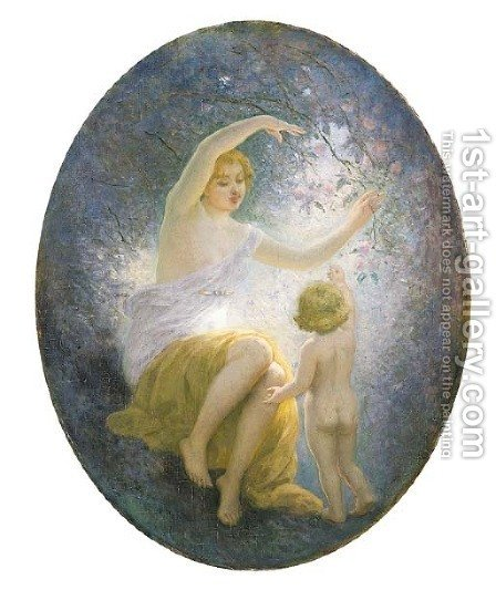 Aurora by Albert-Auguste Fourie - Reproduction Oil Painting