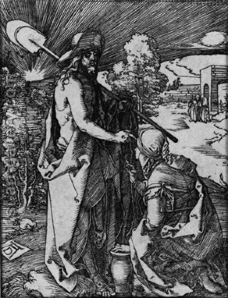 Noli Me Tangere, from The Little Passion by Albrecht Durer - Reproduction Oil Painting
