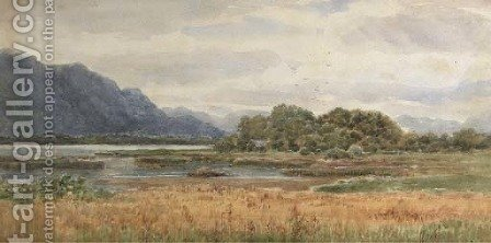 View from the Lake Hotel, Killarney by Alexander Williams - Reproduction Oil Painting