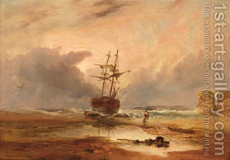 After the storm by Alfred Montague - Reproduction Oil Painting