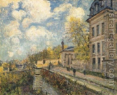 La manufacture de Sevres by Alfred Sisley - Reproduction Oil Painting