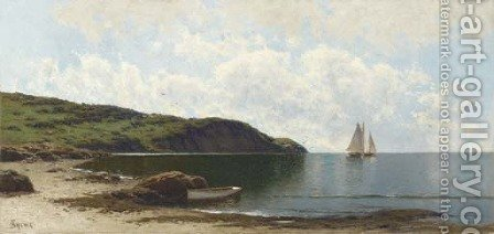 Shore Scene by Alfred Thompson Bricher - Reproduction Oil Painting