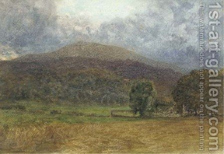 A churchyard, Capel Curig by (after) Le Moyne, Jacques (de Morgues) - Reproduction Oil Painting