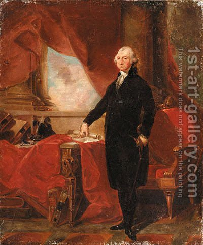 George Washington by American School - Reproduction Oil Painting