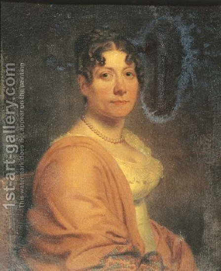 Portrait of Ester Sara Elisabeth Rijgersbos (1780-1813) by (after) Charles Howard Hodges - Reproduction Oil Painting