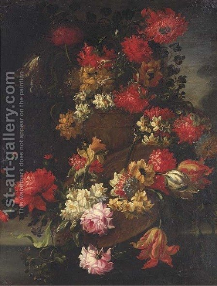 Roses by (after) Elizabetta Marchioni - Reproduction Oil Painting
