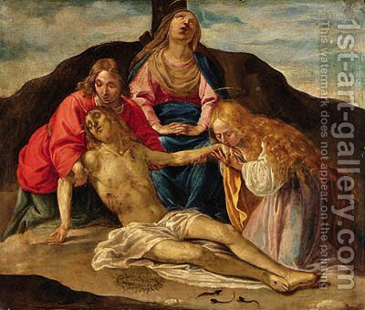 The Lamentation by (after) Giovanni Battista Pozzo - Reproduction Oil Painting