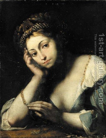 The Magdalen by (after) Girolamo Forobosco - Reproduction Oil Painting