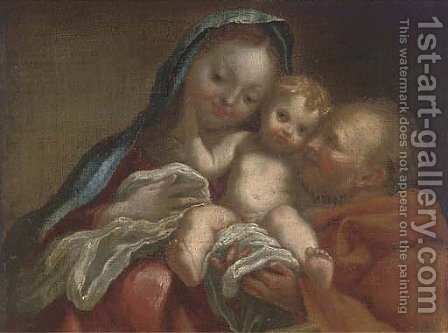 The Holy Family by (after) Ignazio Stella (see Stern Ignaz) - Reproduction Oil Painting