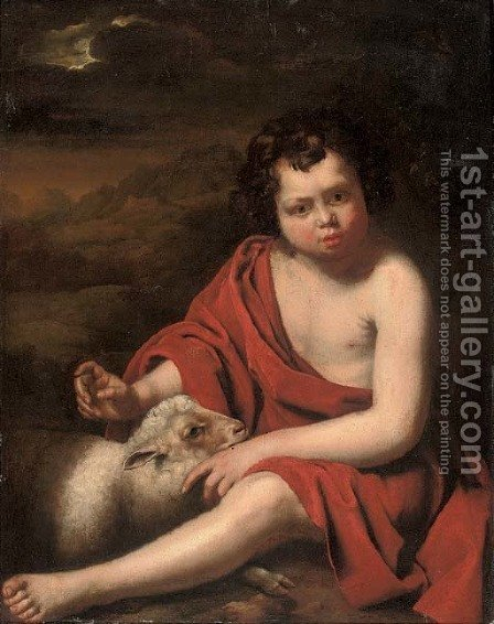 Saint John the Baptist by (after) Jan Van Noort - Reproduction Oil Painting