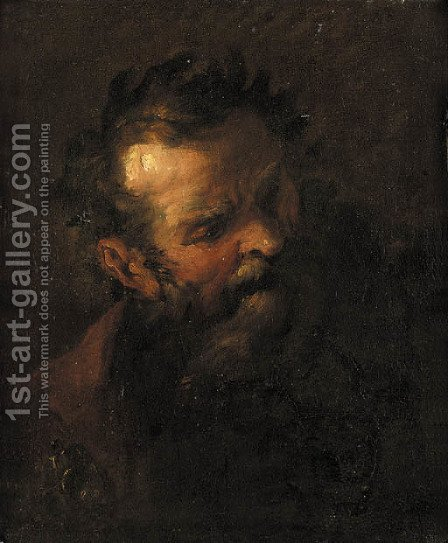 An Apostle by (after) Peter Brandl - Reproduction Oil Painting