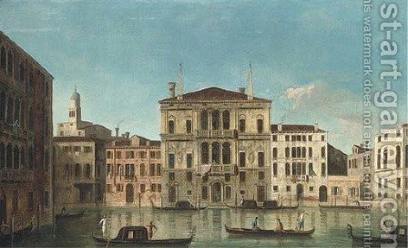 The Grand Canal, Venice, with the Palazzo Balbi by (after) The Master Of The Langmatt Foundation Views - Reproduction Oil Painting