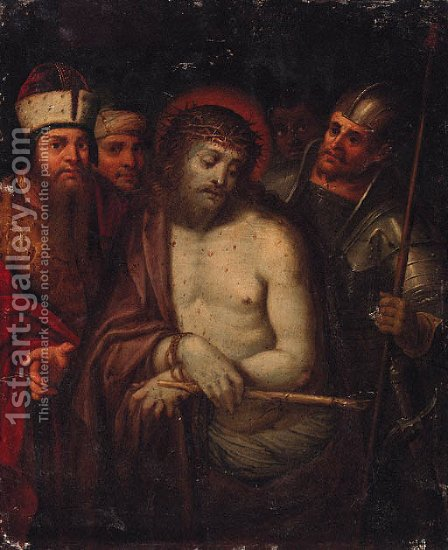 Ecce Homo by (after) Ambrosius Francken I - Reproduction Oil Painting