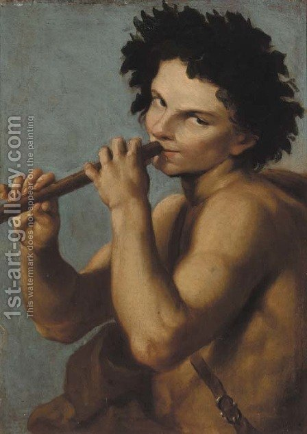 Bacchus by (after) Annibale Carracci - Reproduction Oil Painting