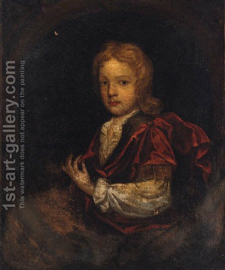 Portrait Of A Boy by (after) Charles D' Agar - Reproduction Oil Painting
