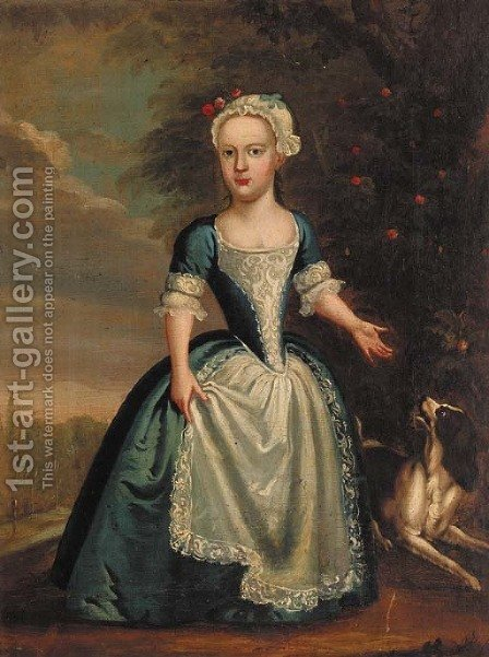 Portrait of a lady by (after) Charles Phillips - Reproduction Oil Painting