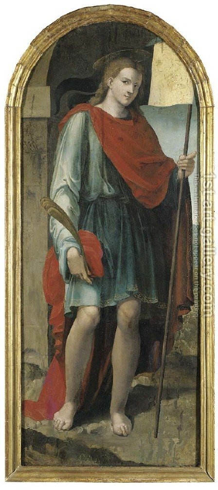Saint Venantius by (after) (Nicola Di Filotesio) Cola Dell'Amatrice - Reproduction Oil Painting