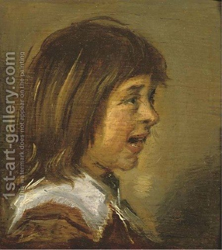 Portrait of a child by (after) Frans Hals - Reproduction Oil Painting